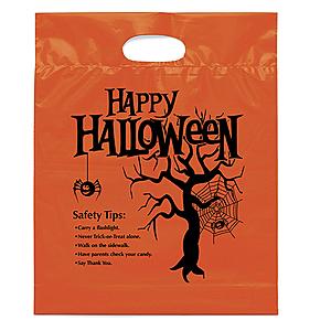 Happy Halloween Die Cut Bag