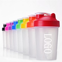 Water Bottle With Smart Protein Shaker