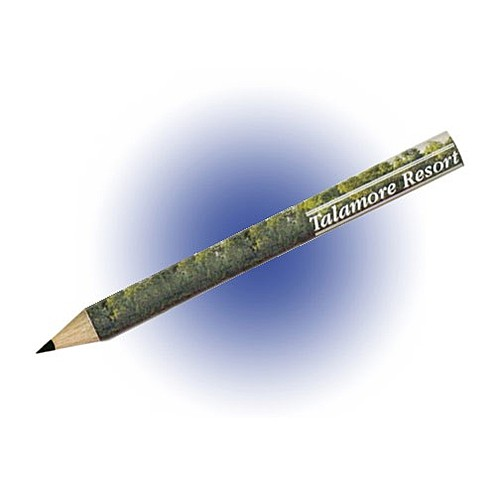 Photo of Round Golf Pencils, Full Color Digital