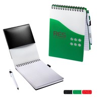 Two Tone Jotter With Pen