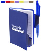 Clear View Jotter With Pen