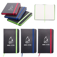 """Two Tone Comfort Touch Bound Journal – 3"""" X 6"""""""