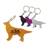 Dog Bottle Opener With Key Chain
