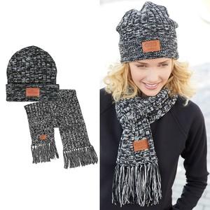 Leeman™ 2 In 1 Heathered Knit Winter Set
