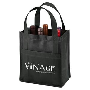 Toscana Six Bottle Non Woven Wine Tote