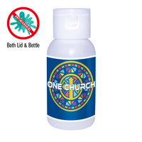 1 Oz. Gel Sanitizer , Full Color Digital