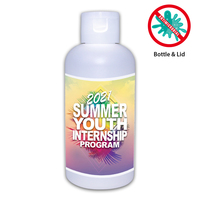 3 Oz. Gel Sanitizer , Full Color Digital